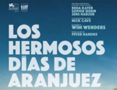 Película 'Los hermosos días de Aranjuez' de Wim Wenders