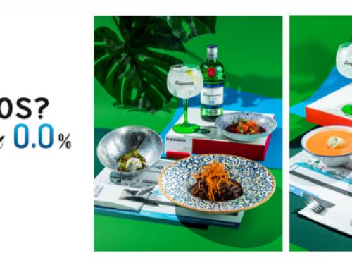 ¿Comem0.0s? Una ruta de Tanqueray 0.0% con menús gastrocómicos y la creatividad de Alfonso Casas